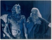 "Still image from Cecil B. DeMille's ""The Ten Commandments"""