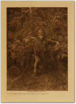 Bak'was (or Wild Man of the Woods) dancer